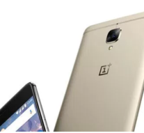 SLEEK GOLD ONEPLUS 3 DEVICE FOR THE CLASSY