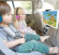 YOUR KIDS WILL NEVER HAVE A DULL MOMENT IN YOUR RIDE WITH THIS GADGET