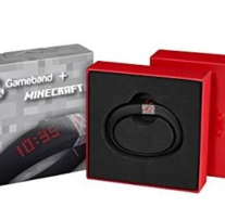 GAME ANYWHERE, ANYTIME WITH THIS MINECRAFT WRIST BAND