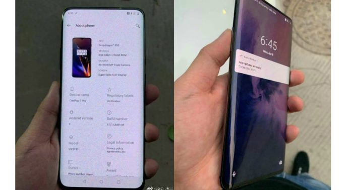 oneplus 7 pro gets android Q beta